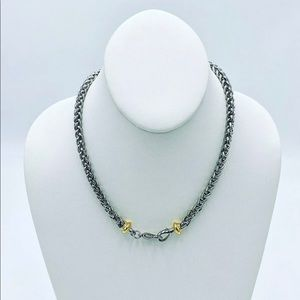 Wheat Clasped Necklace and bracelet